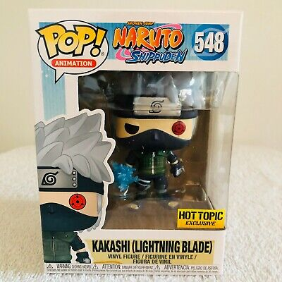 Funko POP! #548 Kakashi w/ Lightning Blade Naruto Hot Topic Exclusive NIB