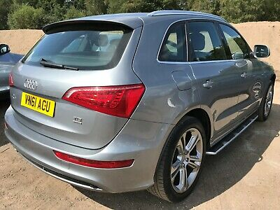 "61 Audi Q5 2.0 Tdi Quattro *S-Line Spec Edition* *Black Leather & 20"" Alloys*"