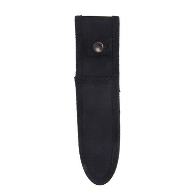 21cm x 5cm mini small black nylon sheath for folding pocket knife pouch case PJU