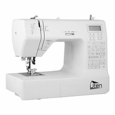 Sewing Machine Electronic Embroidery Computerized With 200 Stitches 9Buttonholes