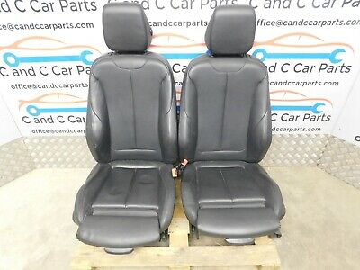 BMW 4 Series M Sport Seats Black Leather Heated Electric Memory F32 Coupe 9/1