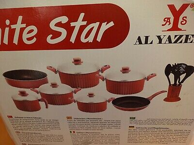 White Star Non Stick 17 Piece Pan