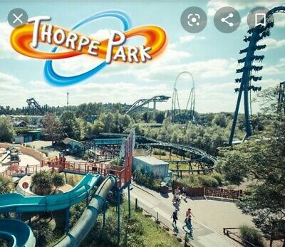 Thorpe Park Tickets for Saturday 21st September x 4