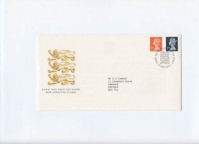 7th Aug 1990 1st and 2nd class Definitives Windsor Postmark First Day Cover FDC