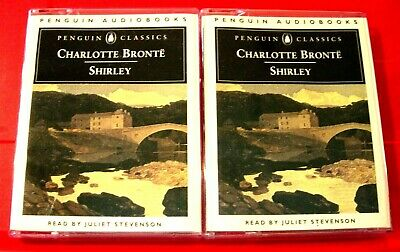 Charlotte Bronte Shirley 4-Tape Audio Book Juliet Stevenson Penguin Classics