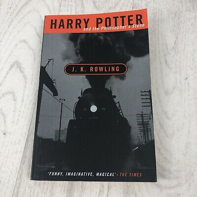 Harry Potter and the philosopher's stone 1st Edition 4th print Adult paperback