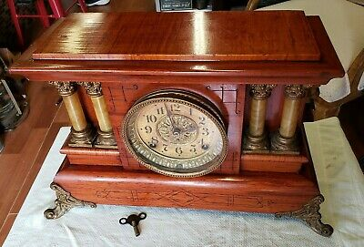 Antique  Seth Thomas Mantel Clock  Circa 1900~ WE Ship!