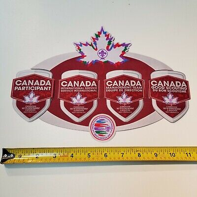 24th World Jamboree 2019 Canadian Contingent Set