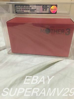 Game Boy Micro Mother 3 Deluxe Edition BUNDLE VGA 90+ ARCHIVAL CASE