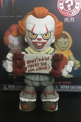 Funko Mystery Minis It Chapter 2 Hot Topic Pennywise Skateboard Chase Figure