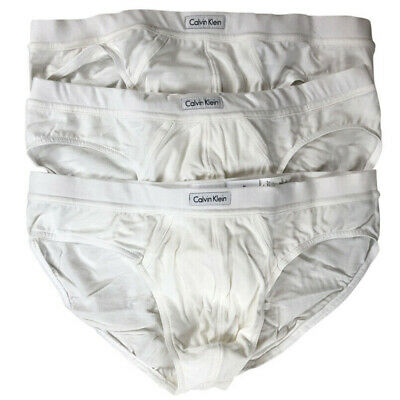 Calvin Klein Men's Underwear Cotton Stretch 3 Pack Bikini Briefs X-LARGE