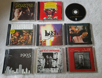 9 CDs The Doors Collective Soul Eric Clapton 1905 Casey Neill Bush and more