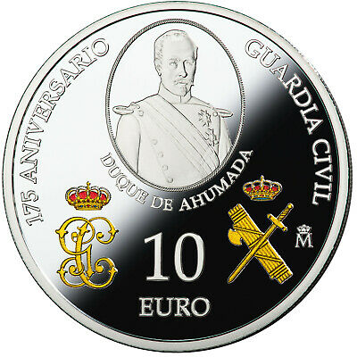 ESPAÑA 10 euro plata 2019 proof 175 Aniversario de la GUARDIA CIVIL