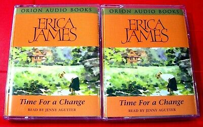 Erica James Time For A Change 4-Tape Audio Book Jenny Agutter
