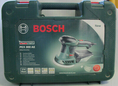 BOSCH PEX 300 AE Electronic Exzenterschleifer - 270 Watt - SDS - Low Vibration