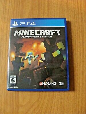 Minecraft -- PlayStation 4 Edition (Sony PlayStation 4, 2014) Complete & Tested