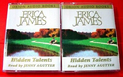 Erica James Hidden Talents 4-Tape Audio Book Jenny Agutter