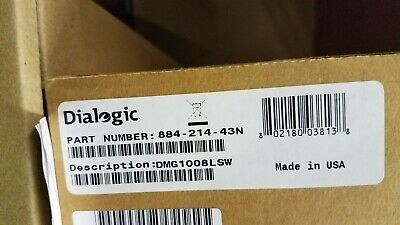 Dialogic DMG1008LSW - BRAND NEW FACTORY SEALED - (884-214) + 1 YR WARRANTY
