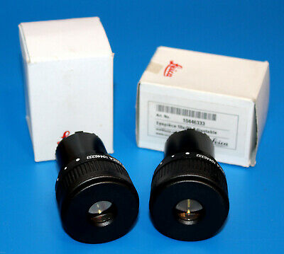 New Pair Leica 10X/23 Adjustable Microscope Eyepiece For S Series 30mm 10446333