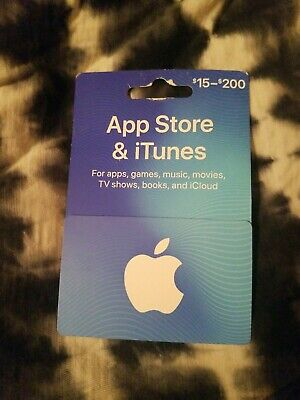 Apple $200 App Store & Itunes Gift Card - free shipping?