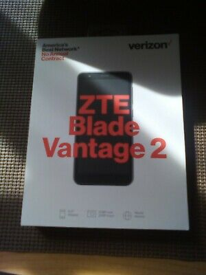 Verizon Wireless Prepaid ZTE Blade Vantage 2 (second gen) running Android 9.0