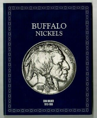 Vintage Meghrig Coin Folder # G-4 For Buffalo Nickels From 1913-1938