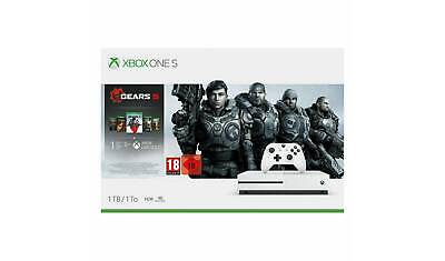 XBOX ONE S 1TB CONSOLE GEARS 5 BUNDLE  - New Unopened (Including 1 2 3 4+5)