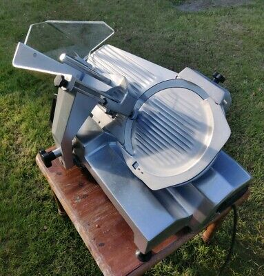 Large Heavy duty Commercial Electric Meat Food Slicer. Boston by FIA