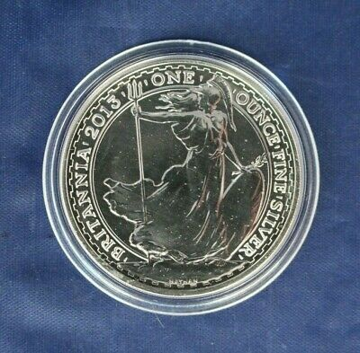 2013 Royal Mint 1oz Silver Britannia £2 coin