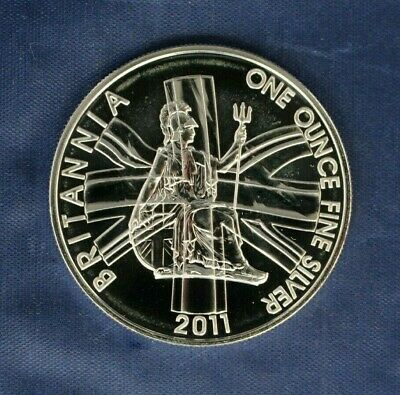 2011 Royal Mint 1oz Silver Britannia £2 coin