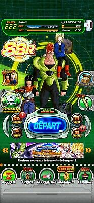 Compte dokkan battle global Android farmed 4 LR New c17/c18/c16+ Cell LR 300ds