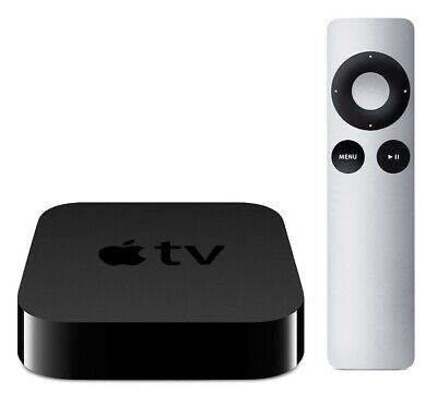 Free Same-Day Ship - Apple TV (3rd Generation) 8GB HD Media Streamer A1469 used