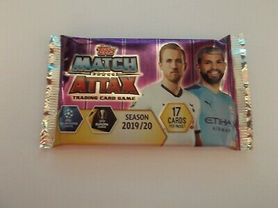 """Match Attax 19/20 """"SUPER SQUAD"""" Champions / Europa - new 17 trading cards pack"""
