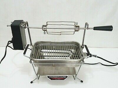 Faberware Electric Rotisserie Grill Inside Catering Buffet Restaurant Broiler