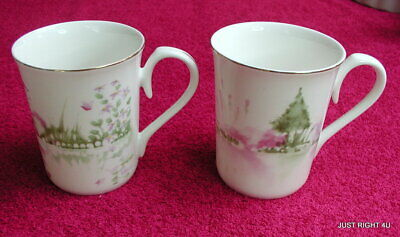 {SET OF 2} Royal Wessex (Reflections) COFFEE MUGS  GUC (last set avail)