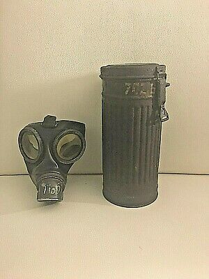 maschera antigas wermacht WWII 2GM 2WK KUK gas mask german