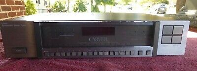 Carver TX-11a Quartz Synthesized Stereo Tuner