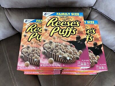 Travis Scott X Reeses Puffs Cereal Cactus Jack Sold Out Limited New (7)