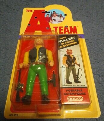 """Vintage The A-Team Viper Action Figure 1983 Gallon LOOK! """"The Bad Guys"""" MOC NIP"""