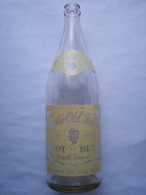 Frostie Root Beer Bottle Soda Bottle Sharpsville Pa 1950