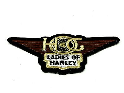 Harley Davidson HOG Ladies of Harley Small Logo Patch (New)