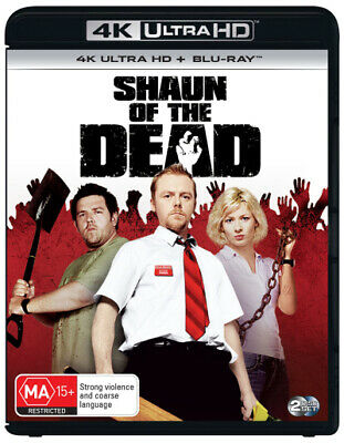 Shaun Of The Dead (4K Uhd/Blu-Ray) (2004) [New Bluray]