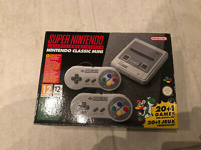 Super Nintendo Classic Mini SNES Console Eu Europe Version