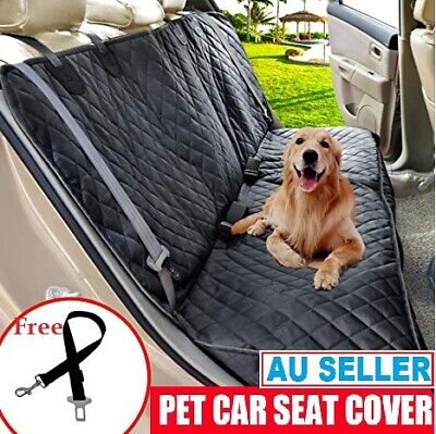100% Waterproof Dog Car Seat Covers Heavy-Duty & Nonslip Back Seat Cover Car Pet
