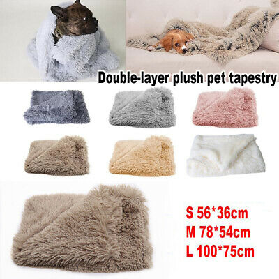 Dog Cat Puppy Pet Plush Blanket Mat Warm Sleeping Soft Bed Towel Blankets Supply