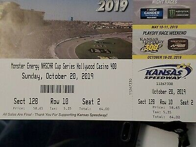 NASCAR KANSAS MOTOR SPEEDWAY **pickup sale pending Saturday September 20***