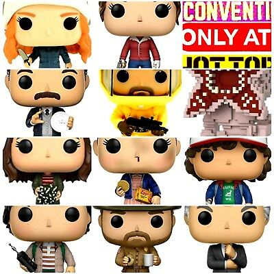 Funko Pop STRANGER THINGS Exclusive Target Hot Topic Summer Convention 2017 LOT