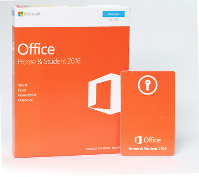 💎  Microsoft office home & student 2016 - Multi language - In box - Discounted