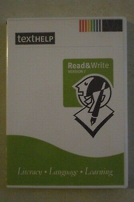 + Texthelp - Literacy Software [Literacy/Languages/Learning] As New
