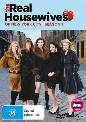 - The Real Housewives Of New York City Season 1 (DVD - 3 DISC) REGION 4 &2 [NEW]